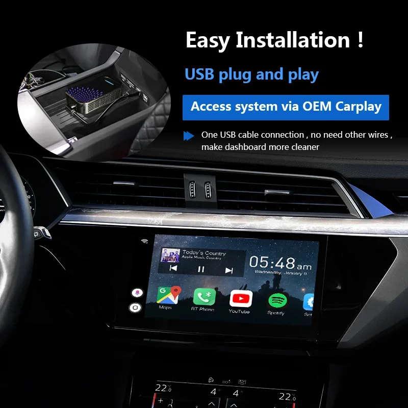 Навигационный блок Carmedia AS-CP31 Opel CarPlay