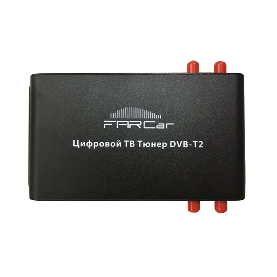 Автомобильный цифровой ТВтюнер DVBT2 INCAR DTV16 4
