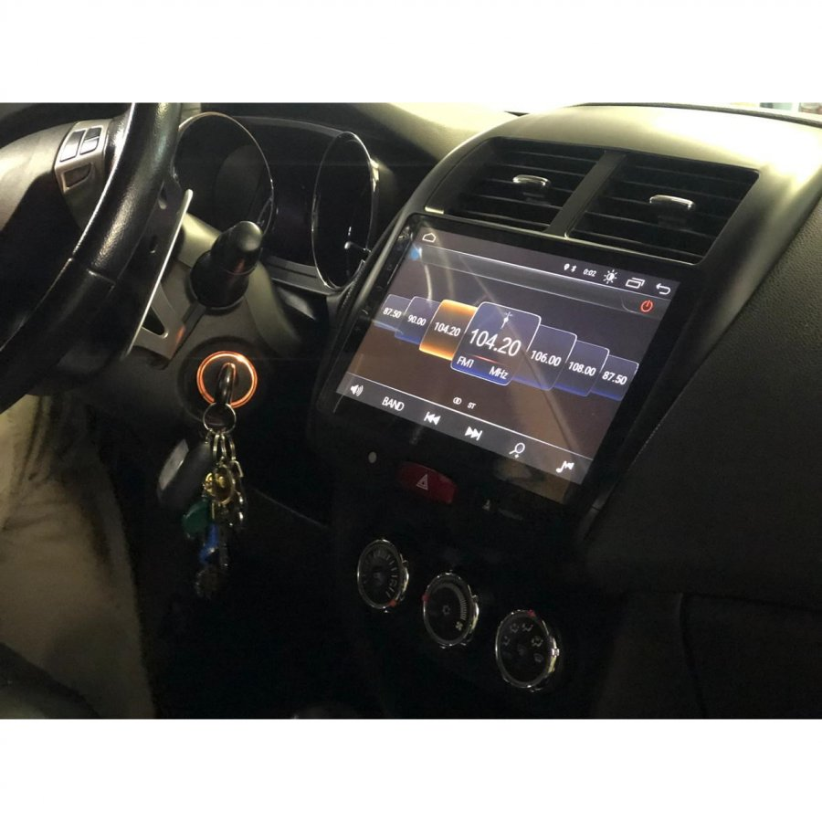 Штатная магнитола Roximo серии S10 RS-2614 Mitsubishi ASX