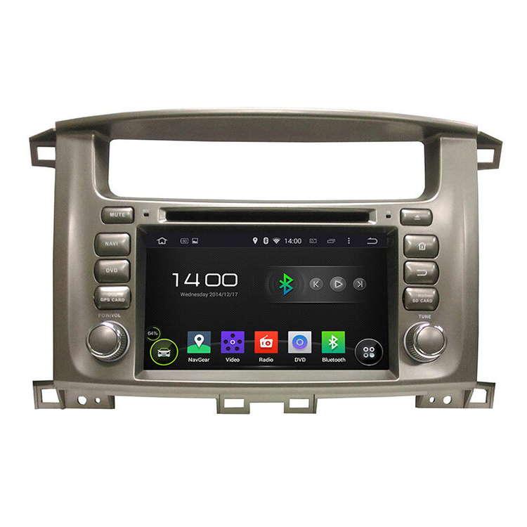 Штатная магнитола Carmedia KD-7020-P30 Toyota LC 100 2002+