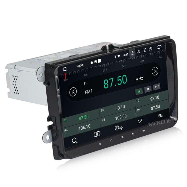 Штатная магнитола Carmedia MKD-9613-P30-8 Skoda Универсальная