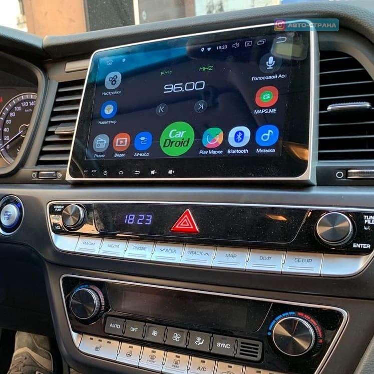 Штатная магнитола roXimo CarDroid RD-2028D Hyundai Sonata 7