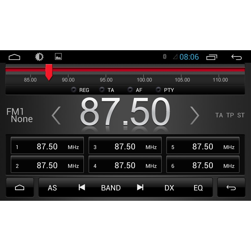 Штатная магнитола Kaier/CarMedia QR-8030 Chevrolet Captiva 2011+