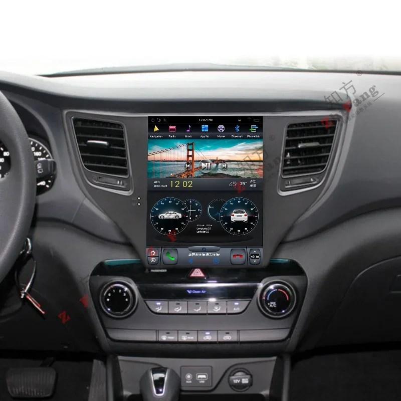 Штатная магнитола CarMedia ZF-1075 для Hyundai Tucson 2016+