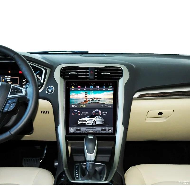 Штатная магнитола CarMedia ZF-1201 для Ford Mondeo 2015+