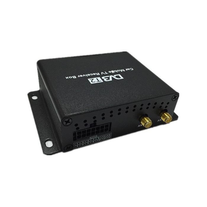 Цифровой автомобильный ТВ-тюнер DVB-T2 CarMedia CM2S