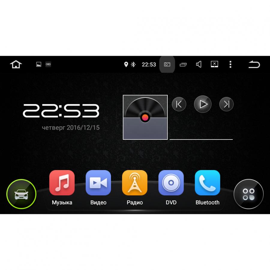 Штатная магнитола Carmedia KDO-1030 для Toyota Camry 2014+
