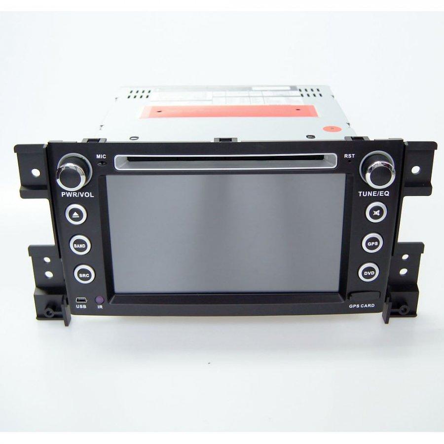 Штатная магнитола CarMedia KR-7063 T8 для Suzuki Grand Vitara II