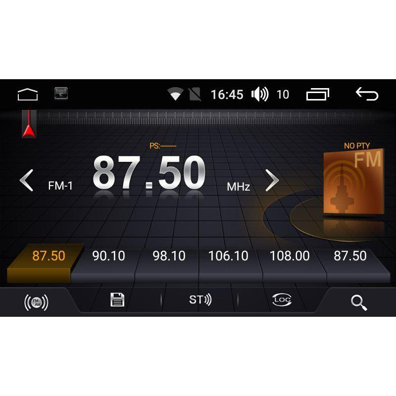 Штатная магнитола FarCar LX005R для Skoda Octavia A5