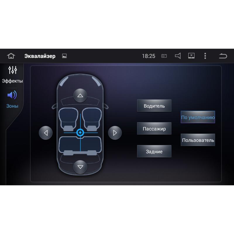 Штатная магнитола roXimo CarDroid RD-1702FM Ford Focus 2