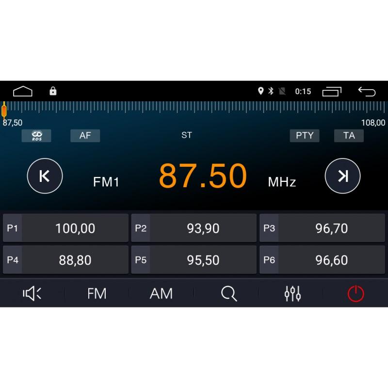 Штатная магнитола Roximo 4G RX-1702A Ford Focus 2, S-max