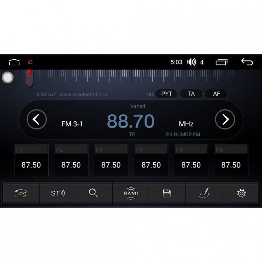 Штатная магнитола FarCar RG370 S300-SIM 4G Skoda Универсальная