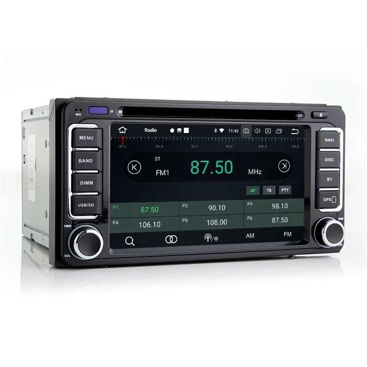 Штатная магнитола Carmedia MKD-T610-P30-8 Toyota Универсальная