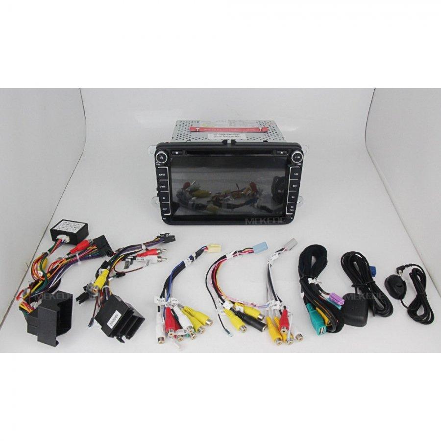 Штатная магнитола Carmedia MKD-8019-P5-8 для Skoda