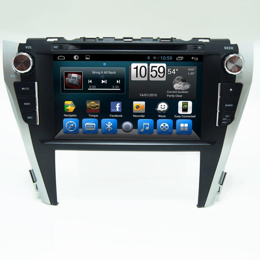 Штатная магнитола CarMedia KR-9005-T8 Toyota  Camry 11.2014+