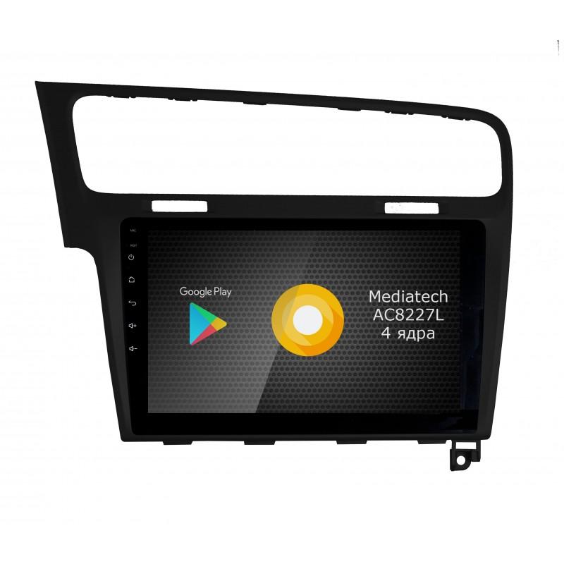 Штатная магнитола Roximo серии S10 RS-3715B  Volkswagen Golf 7
