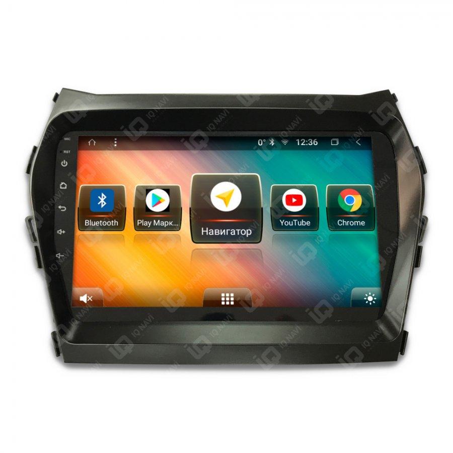 Штатная магнитола IQ NAVI T58-1607PFS Hyundai  Santa Fe 2012-201