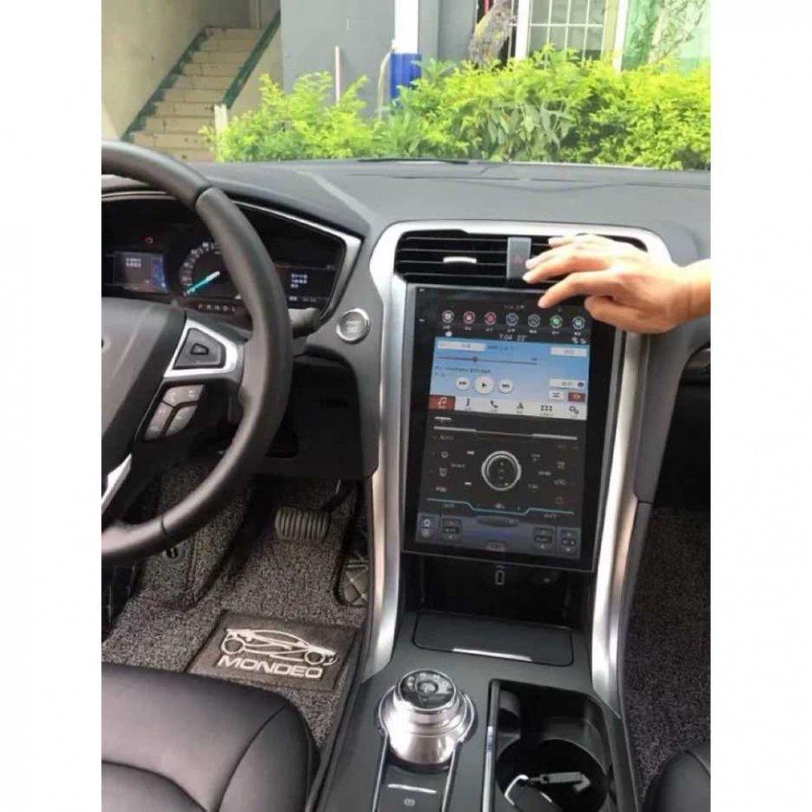 Магнитола в стиле Tesla Carmedia ZF-1201-S3-DSP Ford Mondeo 5