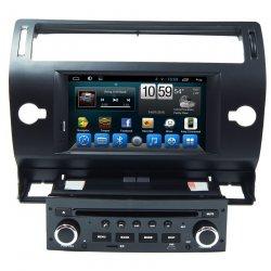 Штатная магнитола CarMedia QR-7066b Citroen C4 2004-2011, C5