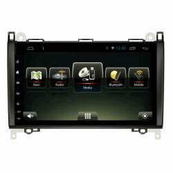 Штатная магнитола CarMedia U9-6610-T8 для Mercedes-Benz