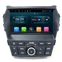 Штатная магнитола Carmedia KR-9235-DSP Hyundai Santa Fe 2012+