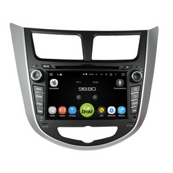 Штатная магнитола roXimo CarDroid RD-2003 Hyundai Solaris
