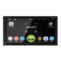 Магнитола CarDroid RD-1004D 2DIN Универсальная 7 (Android 9.0) DSP