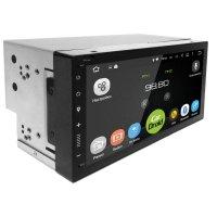 Магнитола CarDroid RD-1005D 2DIN Универсальная 7 slim (Android 9.0) DSP
