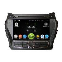 Магнитола CarDroid RD-2009D-N12 для Hyundai SantaFe 3 2012-2015 с навигацией (Android 9.0) DSP