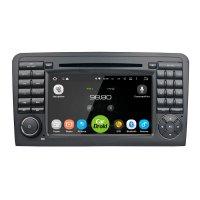 Магнитола CarDroid RD-2504D для Mercedes ML W164 GL X164 (Android 9.0) DSP
