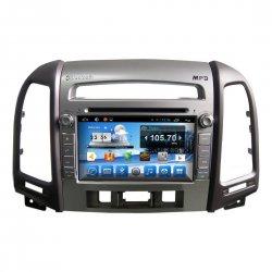 Штатная магнитола CarMedia KR-7031-3 T8 Hyundai Huyndai Santa Fe