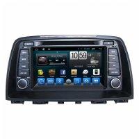 Штатная магнитола CarMedia KR-8074-S9 Mazda 6 2012-2014