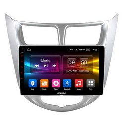 Штатная магнитола Carmedia OL-9707 для Hyundai Solaris 2011-2016