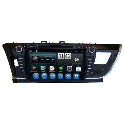 Штатная магнитола CarMedia QR-8090 Toyota Corolla E180/E170 2013