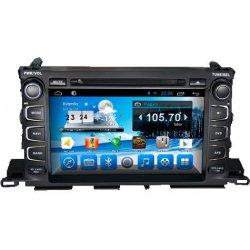 Штатная магнитола CarMedia KR-9003-T8 Toyota Highlander 2014+ U5