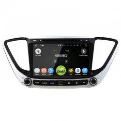 Штатная магнитола roXimo CarDroid RD-2011D Hyundai Solaris c DSP