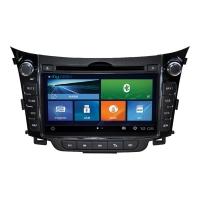 Штатная магнитола MyDean 2156 для автомобилей Hyundai i30 2012+