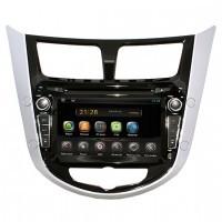 Штатная магнитола AVIS AVS070AN Hyundai Solaris Android 4.2.2