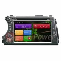 Штатная магнитола Android Redpower 21158 для Ssang Yong Kyron