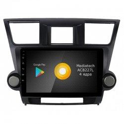 Штатная магнитола Roximo серии S10 RS-1122 Toyota Highlander 2