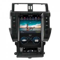Штатная магнитола CarMedia ZF-1801 для Toyota LC Prado 150 2013+